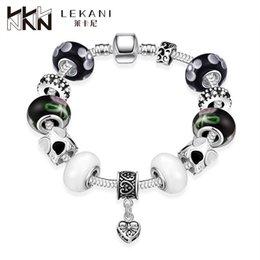 Wholesale 2016 Hot Leica Amazon DIY Crystal Beaded Bracelet Jewelry Trade and handmade beads jewelry box buckle PDRH007