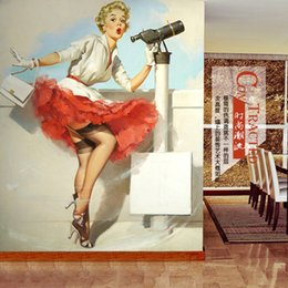 Sexy 3D Wallpaper Marilyn Monro Photo Wallpaper Wall Murals Bedroom Clothing store Room Decor TV Backdrop Wall Mural Designer Wallpaper Art