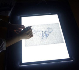Wholesale Mini USB A4 Ultra Thin LED Animation Drawing Table Pad Light Box Pad Drawing Tracing Light Box USB Ultra Thin drawing pad stencil board