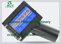 Wholesale LX PACK Lowest Factory Price All around touch screen hand inkjet printer for batch large character hand held inkjet printer