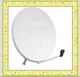 Wholesale Jonsa Ku Band Offset cm feet Satellite Dish antenna This is the best Chinese satellite TV dish antenna Drop Shipping