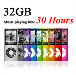 Wholesale Hot popular professional NEW COLORS GB FM VIDEO TH GEN MP4 PLAYER dropshipping