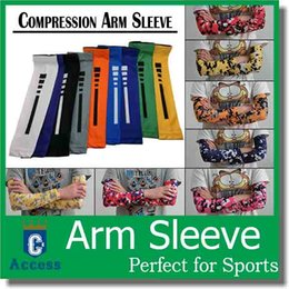 Wholesale 2016 hot selling DHL MENS NIKE PRO COMBAT ELITE BASKETBALL ARM SLEEVES BLACK by DHL
