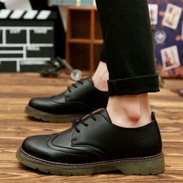 2016 Handmade men's oxfords shoes top quality dress shoes men flat shoes men genuine leather shoes Free shipping