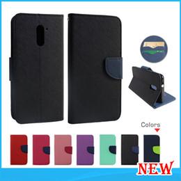 Wholesale For iphone plus alcatel fierce Galaxy Note ZTE Zmax Pro Z981 Flip leather wallet phone case For LG K10 Stylo Plus cover