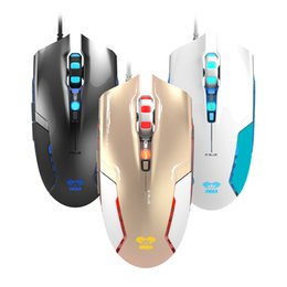 Wholesale E LUE M628 Beautiful Gift New DPI Optical LED Optical D USB Wired Gaming Game Mouse For PC Laptop Game