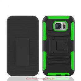Wholesale para Samsung Galaxy s6 caja del teléfono celular de la cubierta La cubierta del color puro última manera antideslizante anti skpidding impermeables stents anti resbaladizas