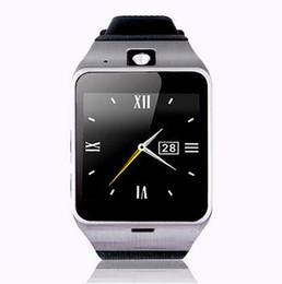 Premier téléphone intelligent en Ligne-{Premier support NFC} Aplus GV18 intelligente montre Bluetooth avec caméra montre Android Phone Support Carte SIM Smartwatch pour Smartphone