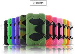 Compra Online Silicio w-Para la cubierta a prueba de choques extrema extrema del caso del silicón del defensor del mini 4 del ipad mini con el Kickstand para el mini 4 2 3 del ipad Envío libre