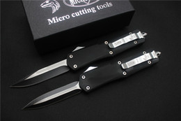 Free shipping,Microtech A07 Troodon Tool ,5 model,Black 440C, Drop-Point, Handle material zinc alloy.Outdoor survival Best knife knives.
