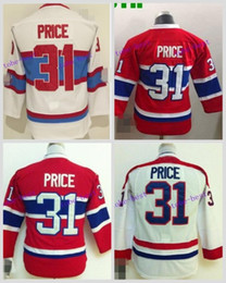 2016 Boys Montreal Canadiens Youth Hockey Jerseys #31 Carey Price Jersey Kids Home red Carey Price Cheap Stitched Jerseys