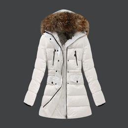 Wholesale M102 parkas for women winter women jacket FRAGONETTE anorak women coats with real fur hood parka women jackets