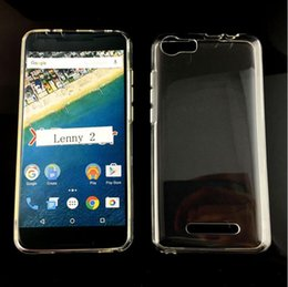 Wiko Lenny 2 Phone Cover Transparent Clear TPU Case Crystal Soft TPU Gel Case for Wiko Lenny2 5inch High Quality
