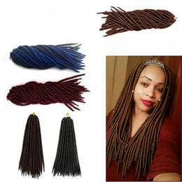 Fashion Braids Hair Synthetic Hair Weave Dreadlocs Braiding Hair Extensions Ombre Braids Hair Soft Dread Locks