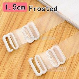 Wholesale cm metal Will not produce allergic Women s transparent silicone bra straps baldric adjustable Intimates Accessories Pair