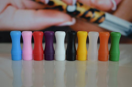 Individual Pack 510 test Tip Silicone soft 510 Disposable Drip Tip Colorful Silicon Rubber Testing Tester drip tips for e cig tank
