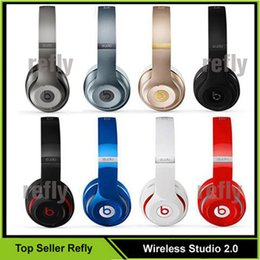 Wholesale Used Beats Wireless Studio Headphone Bluetooth Studio Wireless Headphones Wireless studio with seal Serial code retail box