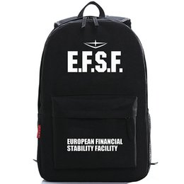 EFSF backpack Gundam soldier school bag Free shipping Oxford popular day pack Hot sale game daypack
