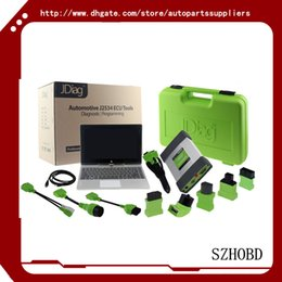 Wholesale 2016 Latest Jdiag Elite J2534 Device For Diagnostic And Reprogramming with Laptop with full software Lifetime Free Update DHL free