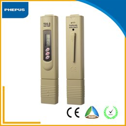 Wholesale PHEPUS Household Water Quality Yellow and Gray Color Tests TDS meter and pH meter price for sales