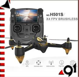 2017 gps quadcopter fpv F17999 originale Hubsan H501S X4 5.8G FPV RC Drone Avec 1080P HD Caméra Quadcopter avec le mode GPS Follow Me CF Retour automatique budget gps quadcopter fpv