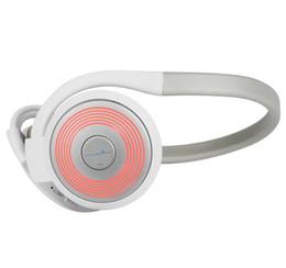 Acheter en ligne Bruit bleu annulation-E-3LUE Pince sans fil avec micro casque antibruit Couleur Rouge / Bleu ZBT103 cadeau Best Christmas par park888
