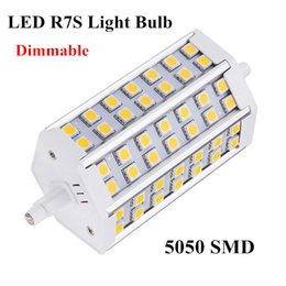 Dimmable LED R7S corn bulbs 5W 8W 10W 15W 18W SMD 5050 for led floodlights spotlight led indoor lighting R7S bulbs MYM2