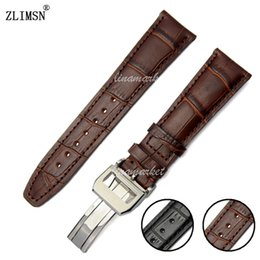 Leather Watch Band Italian Quality 100% Genuine Brown Strap Belat For Iwcwatch 20mm22mm Men Women Watch Rubber