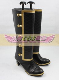 Wholesale RWBY Coco Coco Adel Cosplay Boots shoes shoe boot CQ079 anime Halloween Christmas