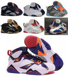 Wholesale Hot2016 Retro Basketball Shoes Women Men Sneakers Retros Shoes s VII Authentic Replica Zapatos Mujer Free Delivery