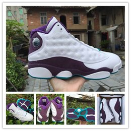 Wholesale Discount Original Air Retro basketball shoes for men mens running shoes sneakers Sports shoe s White purple