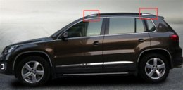 Wholesale For Volkswagen Vw Tiguan Car Styling Roof Rack Trim Cover Auto Accessories Stainless Steel
