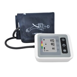 Wholesale Digital Upper Arm Automatic Blood Pressure Monitor Large LCD disply Sets Memory