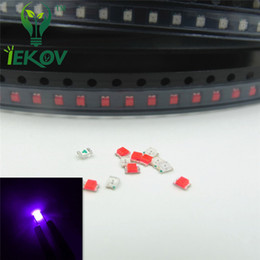 5000pcs 0805 SMD Purple UV LED Super Bright Light Diode High Quality SMD Chip lamp beads Suitable for DIY bicycle and Car Retail