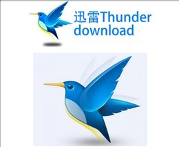 Wholesale Genuine No download software Thunder can download all internet file format exe rar swf avi rm movie flash http ftp bt emule