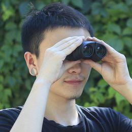 Wholesale Wide Angle Zoom HD Binoculars Professional Compact High Powered Telescope BAK4 Prism Binoculars Night Vision With Faint Light