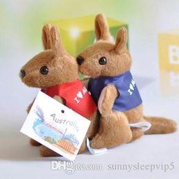 Wholesale 1pcs Australia s national treasures plush toy Australian kangaroo kangaroo figurines