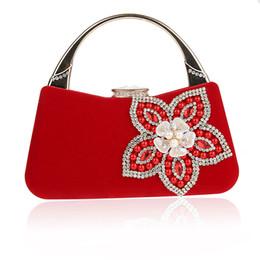 Descuento señoras monederos moldeado Shell Diseño de la flor de Shell de accesorios bolsos de las mujeres con cuentas de embragues del día de señora tarde del monedero del bolso para la boda