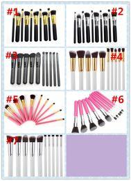 10pcs set Makeup Brushes Professional Set Cosmetics Brand Foundation Brush tools For Face Make Up Beauty