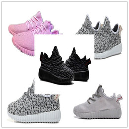 Wholesale baby sneakers toddler shoes Boost Boots Shoes Fashion Kanye Milan West Boost Running Sports Shoes