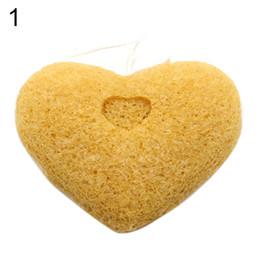 Wholesale-Hot2016 New ArrivalNatural Konjac Konnyaku Puff Face Cleansing Washing Facial Sponge Exfoliator 8KGY