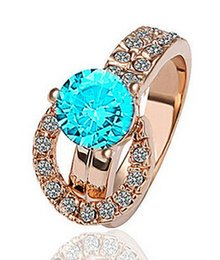 Belt Style Rhinestone Rings For Women Crystal Mix Colors 18mm Good Quality Opp Bag Package Gift Party