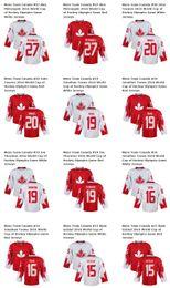 Wholesale Men s world cup of hockey olympics game Canada Team Alex Pietrangelo John Tavares Jonathan Toews Joe Thornton Ryan Getzlaf jersey