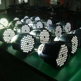 Free shipping High quality 54X3W Silent Warm White LED Studio Light WW LED Par Lamp Stage Lighting