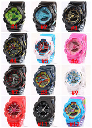 New 2016 watches men luxury brand ,GA110 men sports watch ,men's fashion brand watch,digital and analog watches 5pcs lot