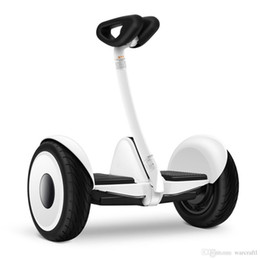 Wholesale Xiaomi Ninebot Self balancing Scooter mini Car original product km h km Two Unicycle Wheels Smart System Phone APP Alloy body LED Lights