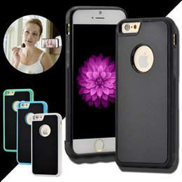 Wholesale Anti Gravity Case Selfie Hybird TPU PC Sticky Antigravity Magical Back Cover For iPhone Plus S SE S Samsung S7 Edge S6 Note