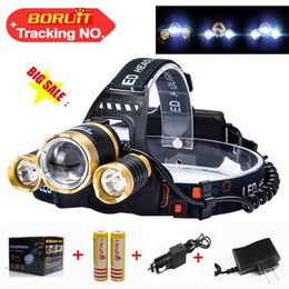Zoomable T6 Xm-L+2Q5 Led Headlight 8000Lm Headlamp Flashlight Head Torch Linterna Cree Xml T6 18650 Battery Ac Car Charger Fishing Light