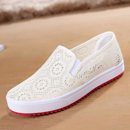 Wholesale Summer old Beijing shoes shoes net shoes breathable round bottomed Foot fashion casual shoes