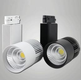 Factory Wholesale price LED Track Light 30W COB Rail Light Spotlight Equal 300w Halogen Lamp warm cold natural white rail lamp AC85~265V
